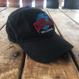 Vintage 98' Planet Hollywood Cap/ OS